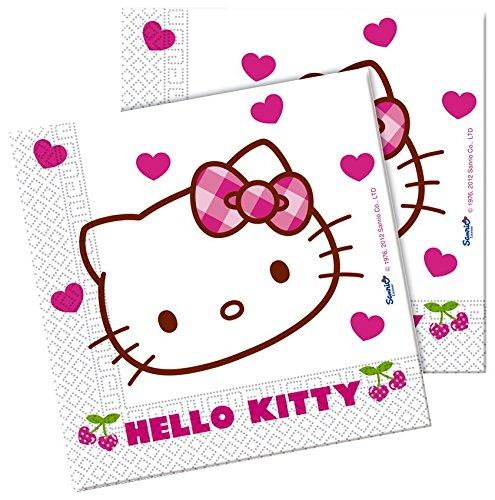 hello kitty partyservietten 20er pack 502 81794. Black Bedroom Furniture Sets. Home Design Ideas