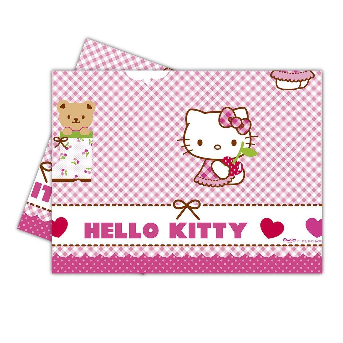 hello kitty tischdecke 502 81795. Black Bedroom Furniture Sets. Home Design Ideas