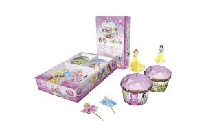 Muffinset Disney Princess 48-tlg.  Cupcake Decoration Kit Disney Princess 48 pcs