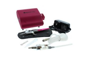 Dinkydoodle Designs Airbrush Machine Kit -Pink-