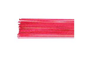 Culpitt Floral Wire Metallic Bright Pink set/50 -24 gauge-