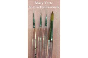 Set Pinsel Mary Torte