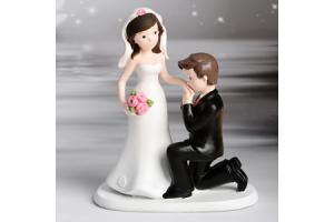 Decorative Figure Wedding Brautpaare Handkiss