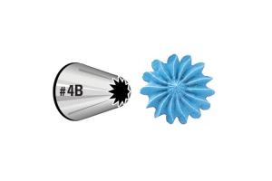 Wilton Decorating Tip #4B open star *