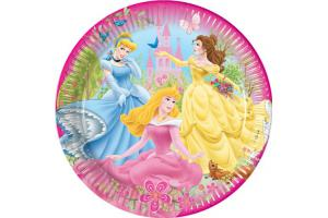 Princess Partyteller im 8er Pack