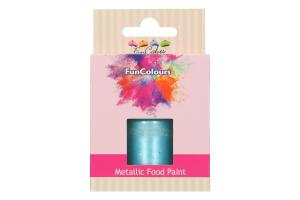 FUNCAKES FUNCOLOURS METALLIC LEBENSMITTELFARBE BABY BLUE 30ML