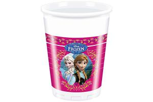 Frozen Trinkbecher 8er Pack, 200ml, Trinkbecher