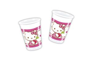 Hello Kitty Trinkbecher 8er Pack, 200ml