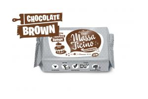 Massa Ticino Tropic Brown Fondant 250g