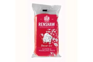 RENSHAW FLOWER & MODELLING PASTE -CARNATION RED- 250 G