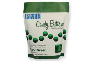 PME Candy Buttons Dark Green 340g