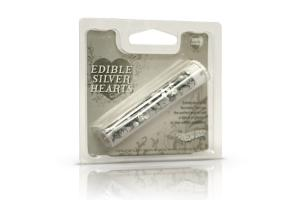 RD Edible Hearts Silver