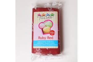FunCakes Fondant Ruby Red -250g-