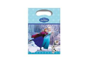 Frozen Ice Skating Partytuten 6er Pack