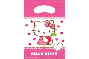 Hello Kitty Partytuten 6er Pack