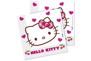 Hello Kitty Partyservietten, 20er Pack
