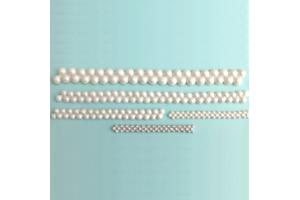 KD Siliconen Mould - Double Pearl Border