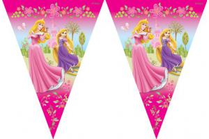 Disney Princess Summer Palace Triangle Flag Banner 3m