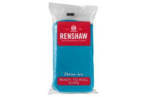 Renshaw rolled fondant 250g -Turquoise-