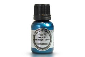 RD Metallic Food Paint Midnight Blue 25ml