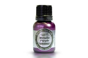 RD Metallic Food Paint Purple 25ml
