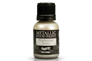 RD Metallic Food Paint Ivory 25ml