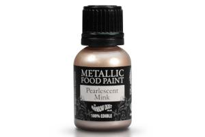 RD Metallic Food Paint Pearlescent Mink 25ml