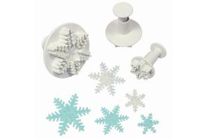 Plunger cutter Snowflake set 3