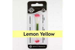 JEM Plain Stamen Large -Lemon Yellow- pk/50