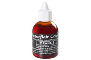 Sugarflair Airbrush Lebensmittelfarbe Orange, 60ml